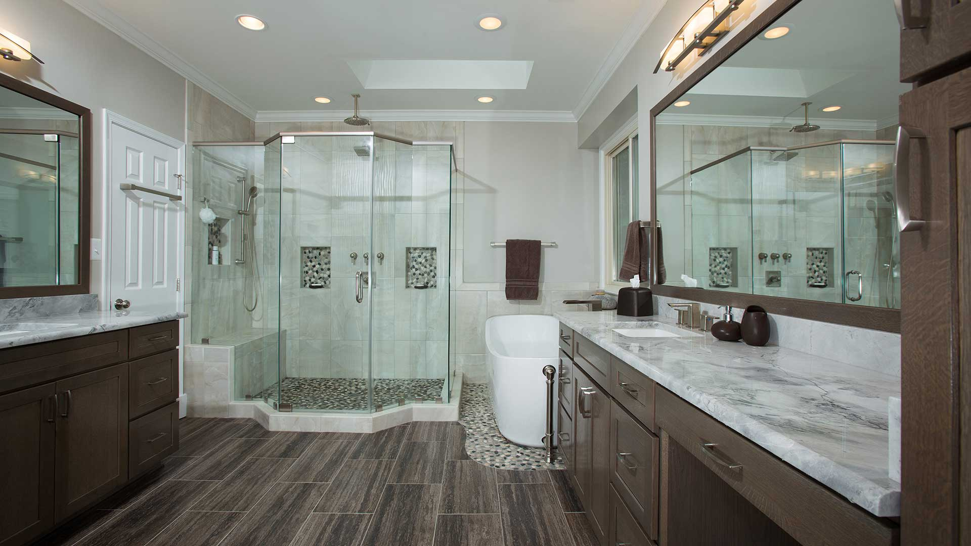Bathroom Remodeling The Power Of The Shower Michael Nash Design - Residential bathroom remodeling